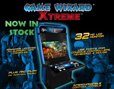 Game Wizard Xtreme Now In Stock