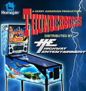 Thunderbirds Pinball For Home