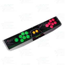 Astro City 2 Player Control Panel
