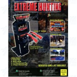 "Extreme Hunting Up Right 25"" Atomiswave Cabinets Available"
