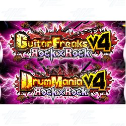 Drum Mania V4 and Guitar Freaks V4 Upgrade Kit
