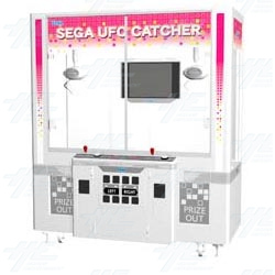Sega UFO Catcher with bonus Disney plush
