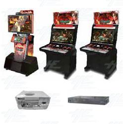Namco Tekken Tag Tournament 2 Arcade Machine Release Date