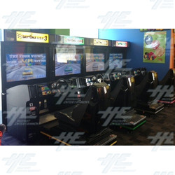 "Sega Daytona USA Arcade Machine 42"" DX Twin set @$5,500 (Save $2000)"