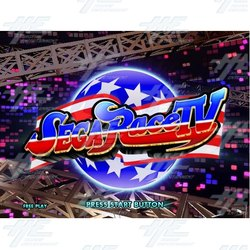 Coming Soon - Sega Race TV English Version!
