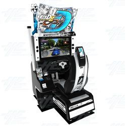 Initial D Arcade Stage 8 Infinity Driving Machine Now On Clearance