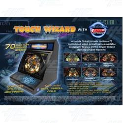 Touch Wizard Pinball Arcade @ MCE 2017
