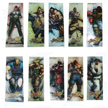 Street Fighter 4 Poster - Set of 10
