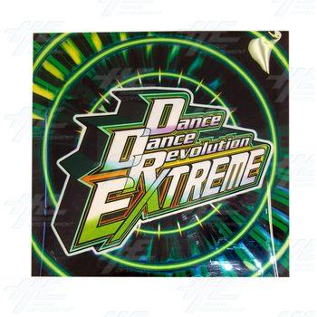 Dance Dance Revolution (DDR) Extreme Soft Plastic Header