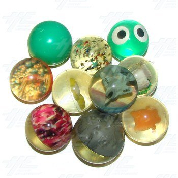 Bouncy Balls - Various Lot (60pcs)