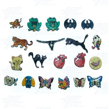 Magnets - Cartoon Animals (20pcs)
