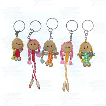 Keyrings - Small Size - Lot 1 (161pcs)
