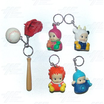 Keyrings - Large Size - Lot 2 (69pcs)