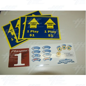 Assorted Set of Player Instructions 9
