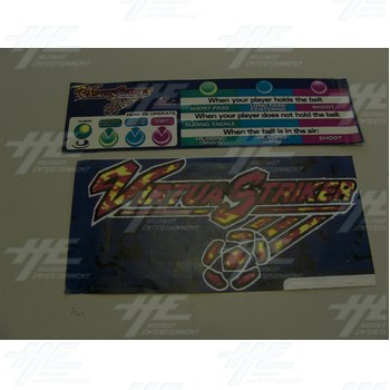 Virtua Striker Player Instruction Set