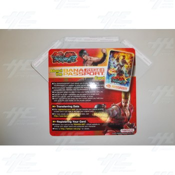 Tekken Tag Tournament 2 Banapassport Card Instruction Poster