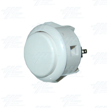 Sanwa Push Button OBSF-30 White