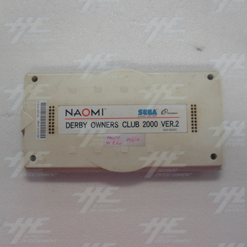Derby Owners Club 2000 Version 2 Arcade Naomi Cartridge (Faulty)