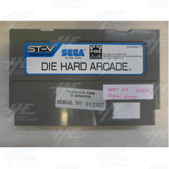 Die Hard Arcade ST-V Cartridge