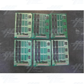 Namco System 22 Point C ROM PCB (Pack of 6)