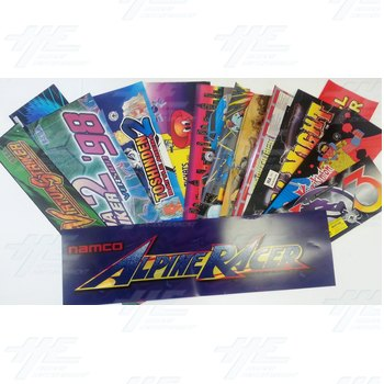 73 Assorted Arcade Header Bulk Bundle