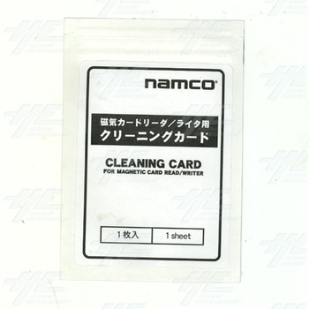 Namco Cleaning Card for Magnetic Card Reader/Writer (Z)