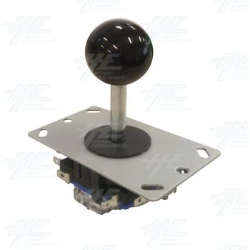 Black Ball Top Joystick for Arcade Machine