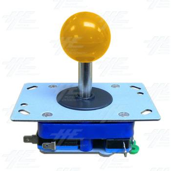 Yellow Ball Top Joystick for Arcade Machine (Zippy Styled)