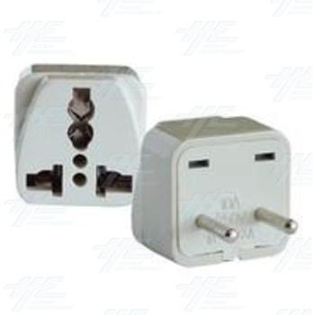 Universal Travel Power Plug Adapter German Model
