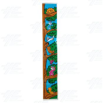 Honey Bears Cabinet Sticker - Left Side