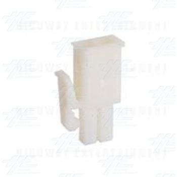 TYCO ELECTRONICS Universal Plug Housing, 2 Way Mate N Lok Plug - 172165-1