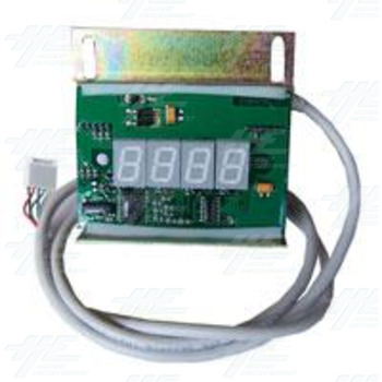 4 Digit Display with Housing and Wiring - Model RM924/S - Tropic