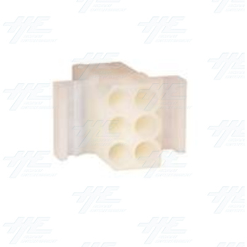 MOLEX 6 Way Connector Housing - 03-09-1061