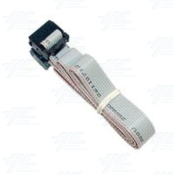 NRI Coin Mech Ribbon Cable - 10 pin to 10 pin flat ribbon cable (Type A - 1m)