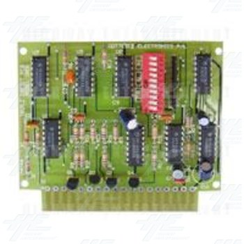 Gottlieb Triple Coin Credit Board PCB: Model No - 102B