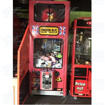 London Bus Crane Machine