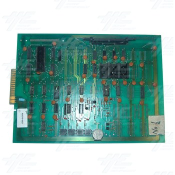Unknown Arcade PCB