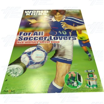 Namco World Kicks Poster