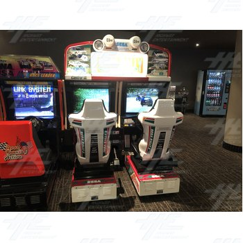 Sega Rally 2 Twin Arcade Driving Machine