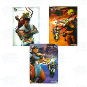 Street Fighter 4 Posters (set of 3)