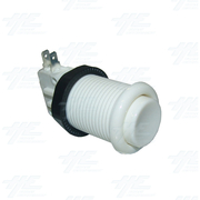 Arcade Button 35mm - White with microswitch