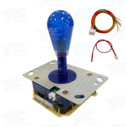 Blue Illuminated Joystick for Arcade Machine