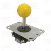 Yellow Ball Top Joystick for Arcade Machine