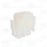 TYCO ELECTRONICS / AMP Universal Plug Housing 3 Way, Mate N Lok Plug - 350766-1