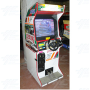 Sega Rally 2 Upright Arcade Machine