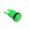 Pushbutton - Convex 34mm - Green