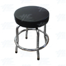 Arcade Stool Chrome with Swivel Seat