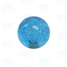 Joystick Bubble Ball Top 45mm Blue