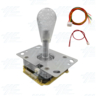 White Illuminated Clear Joystick for Arcade Machine