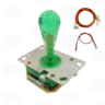 Green Illuminated Joystick for Arcade Machine